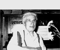 Il Maestro Arturo Melocchi