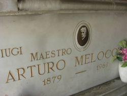 Foto della Tomba di Arturo Melocchi