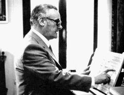 Marcello Del Monaco durante una lezione