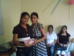 A moment of Students sharing gifts