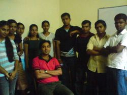 Farewell party of batch 80
