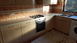 kitchen to be upgraded with worktops and replacement unit doors etc pic 1 of 6