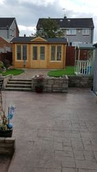 Log cabin and playhouse completed pic 9