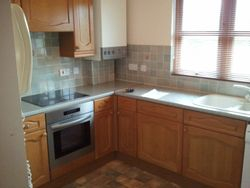 old wood style kitchen before upgrade pic 1