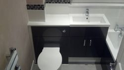 Upgraded bathroom complete pic 11 of 12
