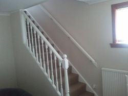 stair case painted and completed pic 2