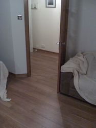 flooring from d/room , livingroom into hall pic 5