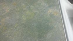 Laminate worktop burn repaired pic 3