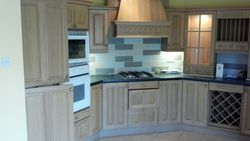 Kitchen to be removed  and upgraded to Benchmarx Eden cream shaker pic 1