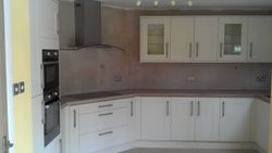 upgraded to Benchmarx Eden style kitchen pic 1