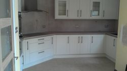 pic 2 Eden cream shaker with coco bola 50mm thick laminate worktops