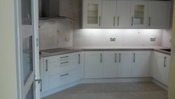 Benchmarx Eden kitchen upgrade complete apart from tiling.
