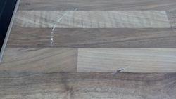 Pan burn mark on laminate worktop pic 1