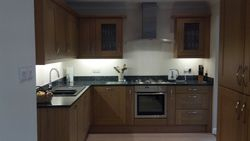 New kitchen area upgraded from dining room to Stevenswood Broadoak kitchen units and Granite worktops pic 6 of 7