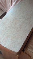 Caravan table worktop dent fully repaired pic 5 of 5