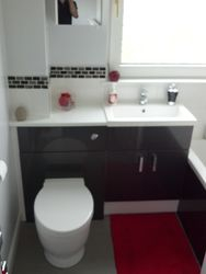 Bathroom upgrade completed 12 of 12