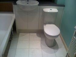 Bathroom upgrade work in progress pic 2 of 5