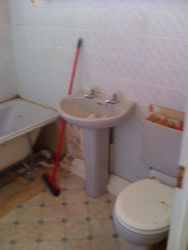 Bathroom upgrade rip out pic 2 of 7