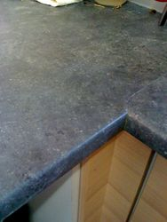 Burn marks on kitchen laminate worktop fully repaired pic 3 of 3