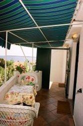 Balcony at summer
