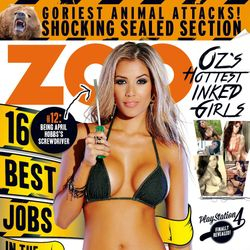 Cover Model for Zoo Weekly Magazine
