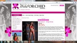 Wild Orchid Website Bikini Model