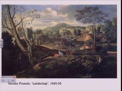 """Nicolas Poussin """"Landscape"""""""