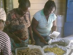 Thanks Merna for that awesome Ackee & Saltfish & Callaloo breakfast!