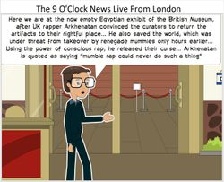 The 9 O'Clock News Live From London
