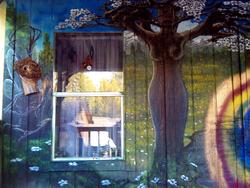 forset wall mural