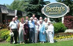 Bob Armstrong's 65th, Betty's Restaurant, Niagara Falls, Ontario