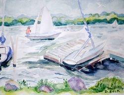 Sailing Lake Chautauqua, Chautauqua, NY
