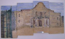 Alamo - Tiered Canvas - 20X40 - $225.00