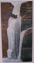 Soaring Eagle - Gallery Wrapped - 24X48 - $325.00