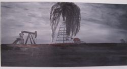 Texas Oil Field - Gallery Wrapped - 30X40 - $225.00
