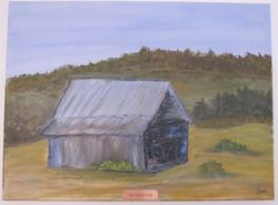 The Farmer Died - 18X24 - $65.00