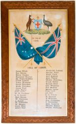 Roll of Honour - 1914-18
