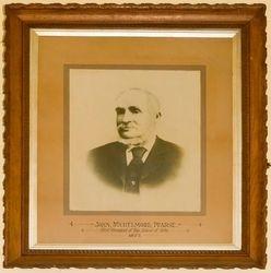John Pearse - founding President 1877