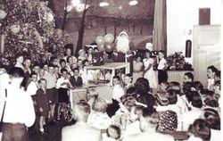 """The Christmas Tree"" children's event 1957"