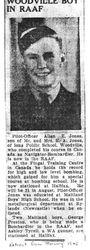 Wartime report re Allan Jones