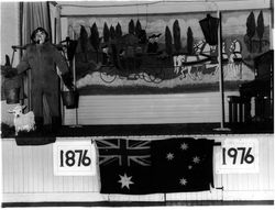 Centenary stage decorations - 1976
