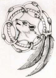 Wolf Cub Dreamcatcher