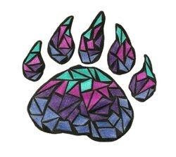 Mosaic Bear Paw