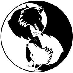 Wolf Yin Yang E