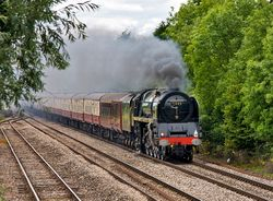 Steam Train approaching