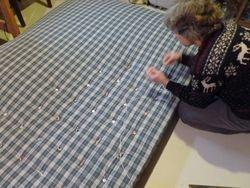 Our new mattress, step ten
