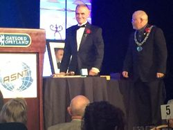 Outgoing Chairman Kevin Smith