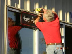 Placing the Sign