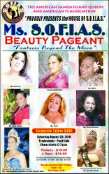 Pageant Ad in the Newspaper