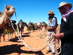 Teaching Cameleering Skills with Outback Australian Camels